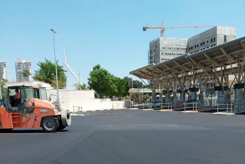 מסוף אבנת // באדיבות: עיריית פתח תקוה