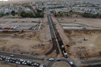 הכביש החדש באילת // צילום עיריית אילת