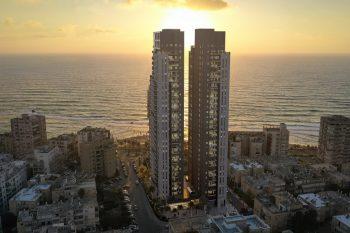 הדמיית פרויקט YAM // באדיבות ICR מבית ישראל קנדה וראם מגורים