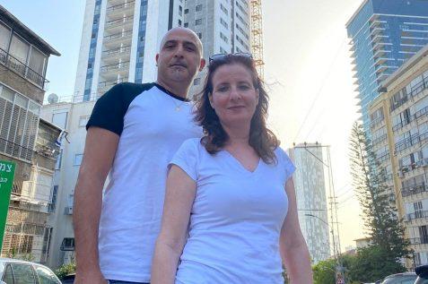 יהודה ואיריס מרציני מפרויקט המתמיד // צילום פרטי