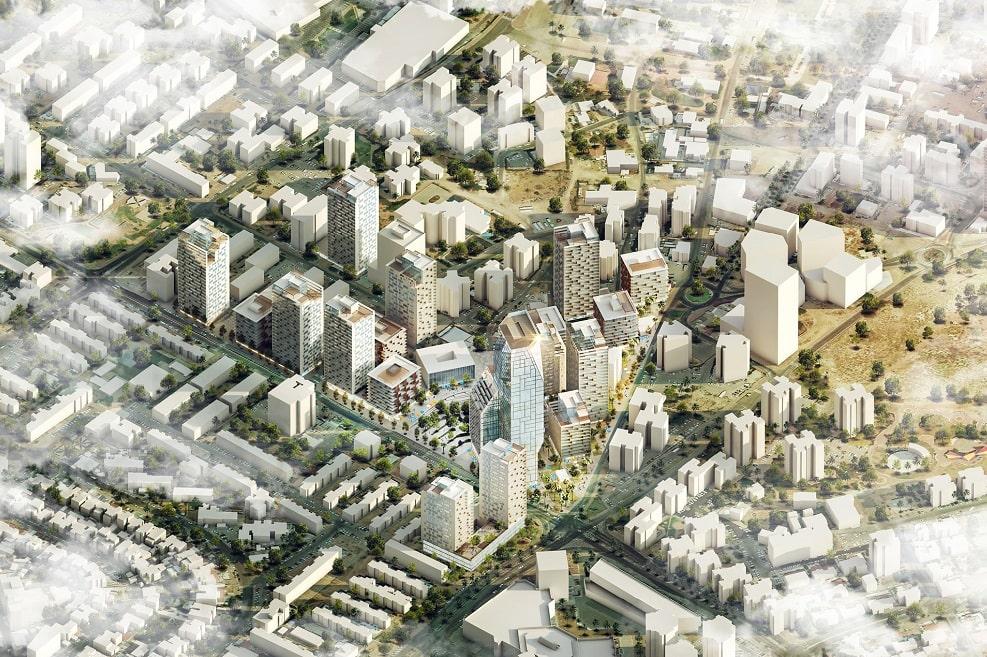 הדמיית התכנית // משרד דרמן ורבקל אדריכלות