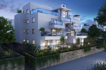 הדמיית הפרויקט // איצקין אדריכלים