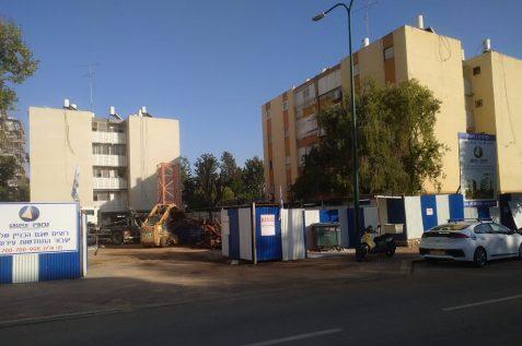 הבניין ברחוב קורצאק // צילום: עוזי עבדה