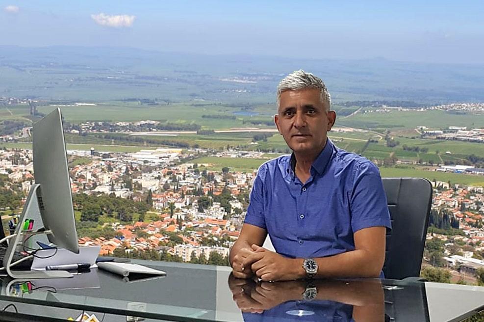 ראש העיר חצור הגלילית שמעון סויסה // סטטוס מדיה