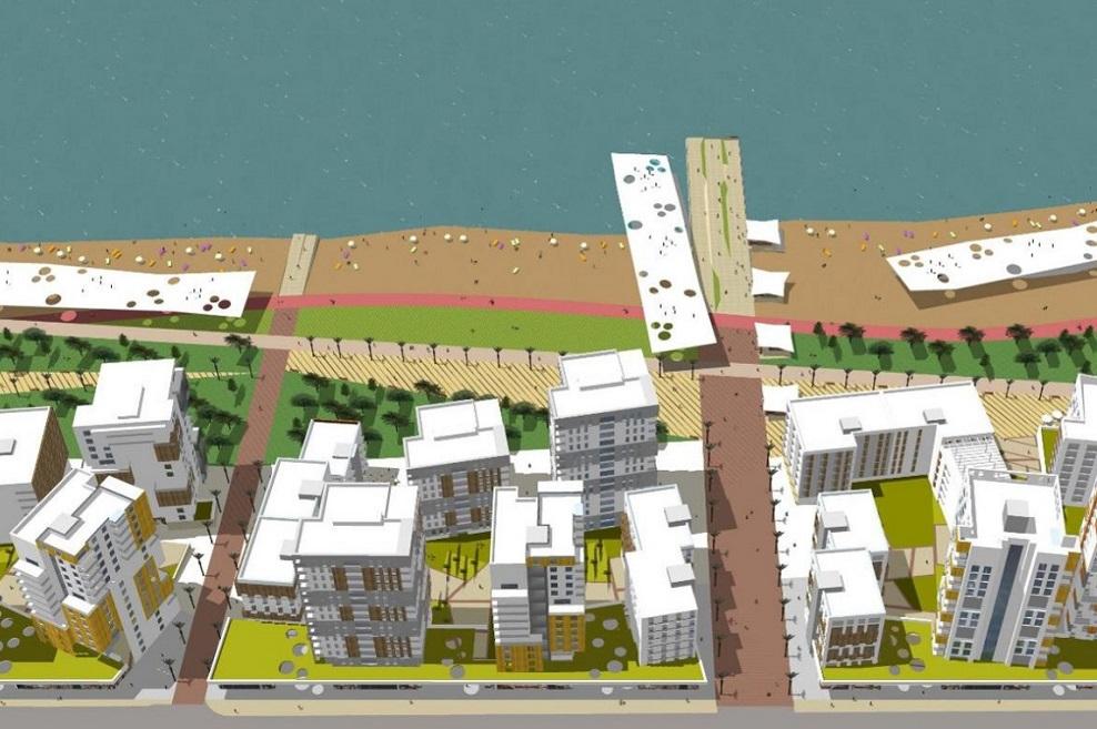 הדמיית התכנית // פרופ' אדר' אירית צרף אדריכלות ובינוי ערים