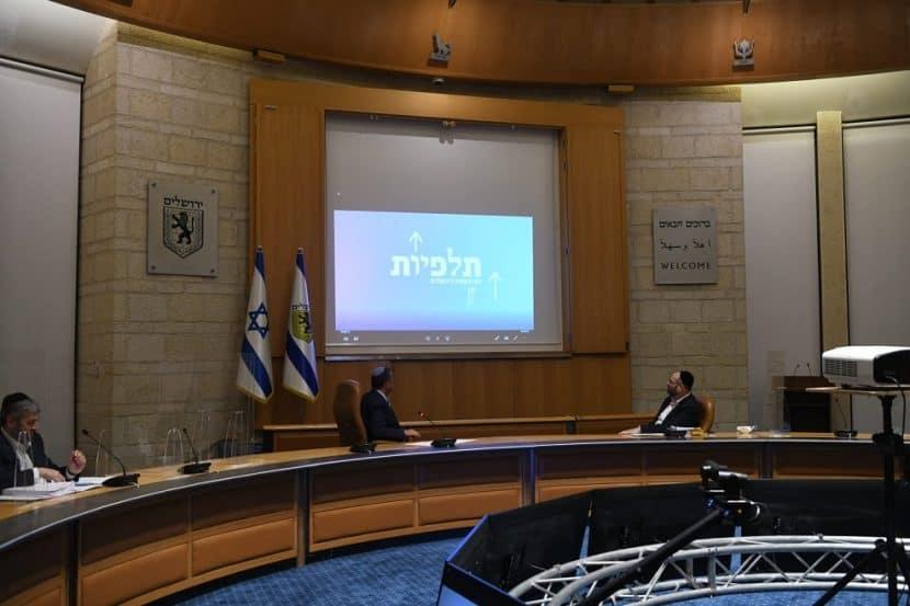 אישור התוכנית במועצה // אריה לייב אברמס