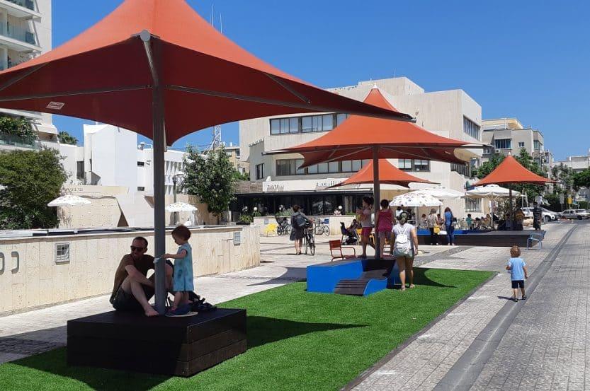 מתחם באזל // באדיבות נדל רויזין אדריכלים