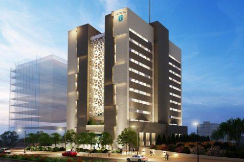 הדמיית קריית הממשלה בנתניה // משרד הוק אדריכלים