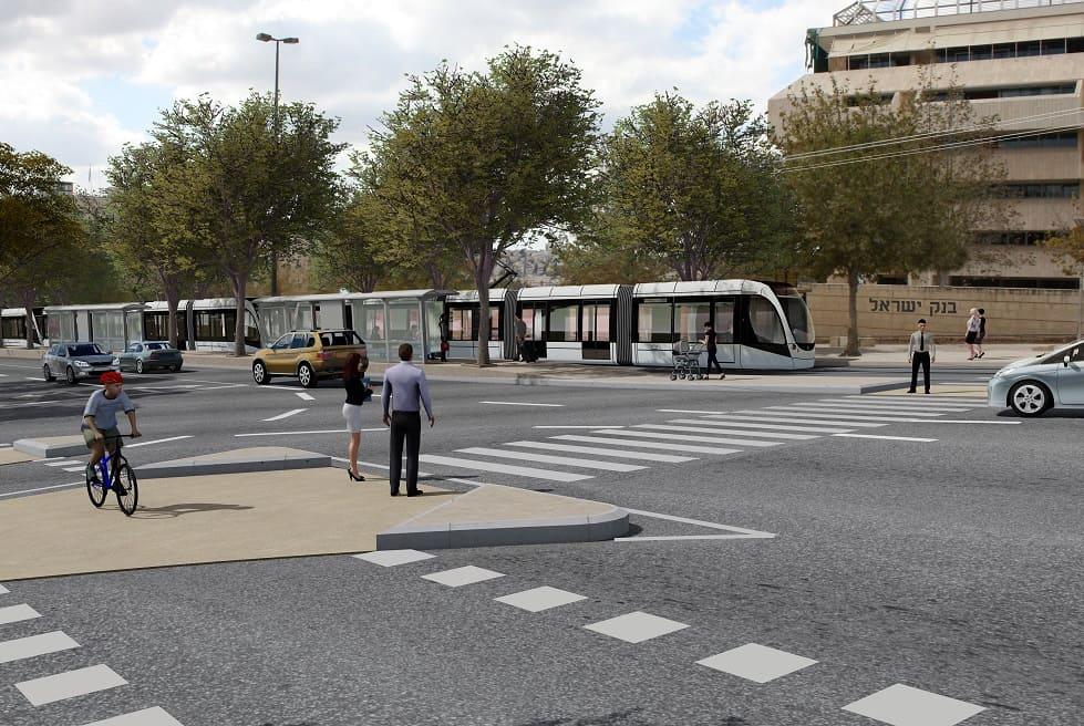 קו הזהוב - בנק ישראל // תוכנית אב לתחבורה ירושלים