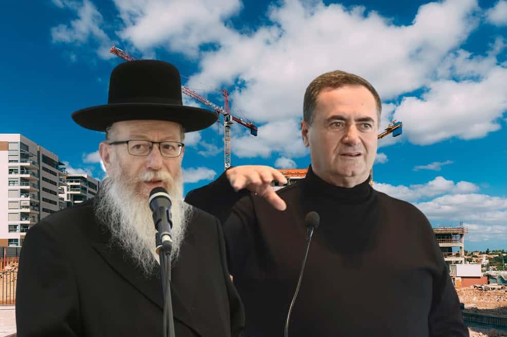 השר כץ // צילום כפיר סיון   השר ליצמן // צילום: חורחה נובומינסקי