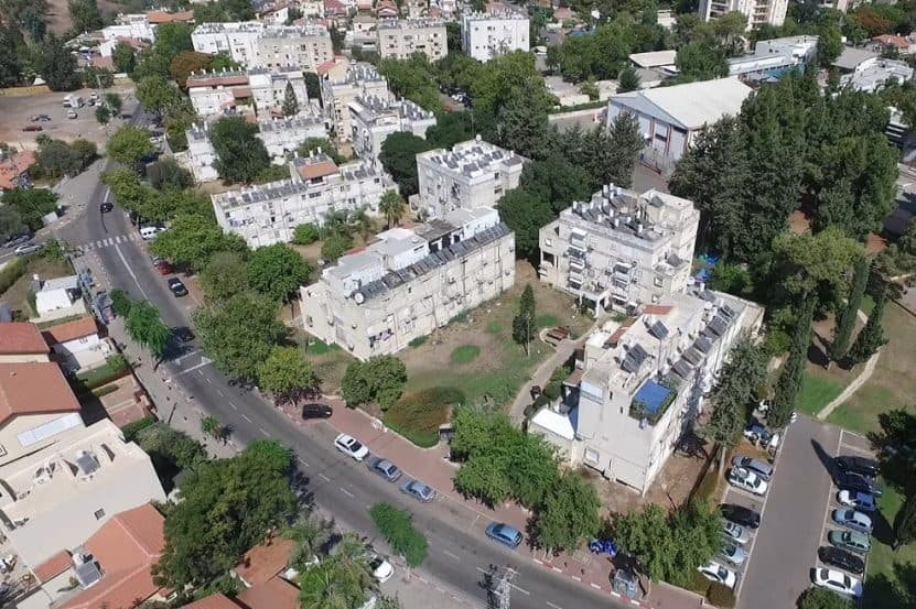 הבניינים הישנים ברחוב בר כוכבא // צילום: אסף אמר