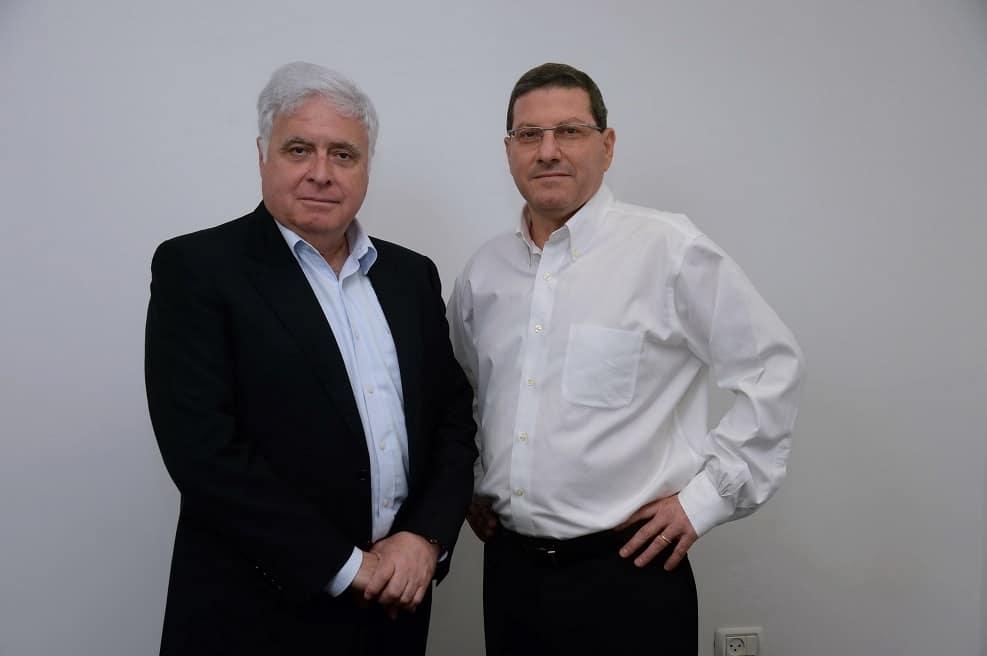 גיל גירון מנכל אשטרום ורמי נוסבאום יור הקבוצה // ישראל הדרי