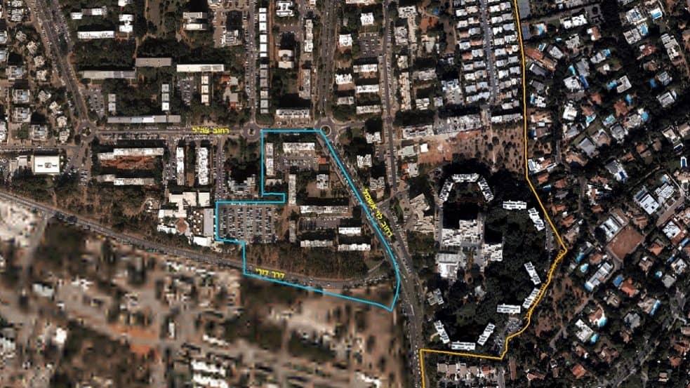 מתחם הצבר הרקפת קרית אונו // לשכת התכנון מחוז תל אביב