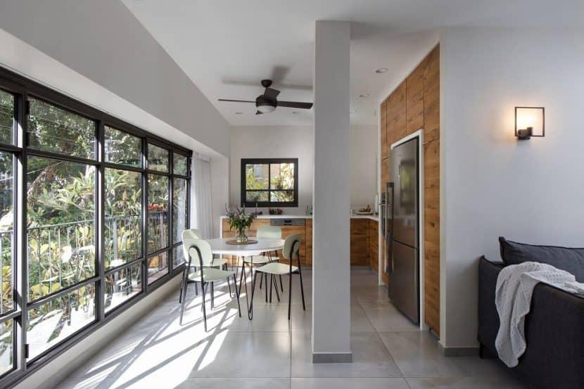 עיצוב דירה במרכז תל אביב // צילום: שירן כרמל