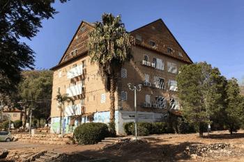 הבניין שיעבור חיזוק // צילום: אדריכל רון אייל