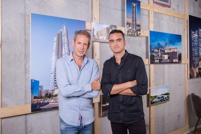סיטיבי אדריכלים ערן שקד (מימין) וערן לשם // צילום: סיטיבי אדריכלים