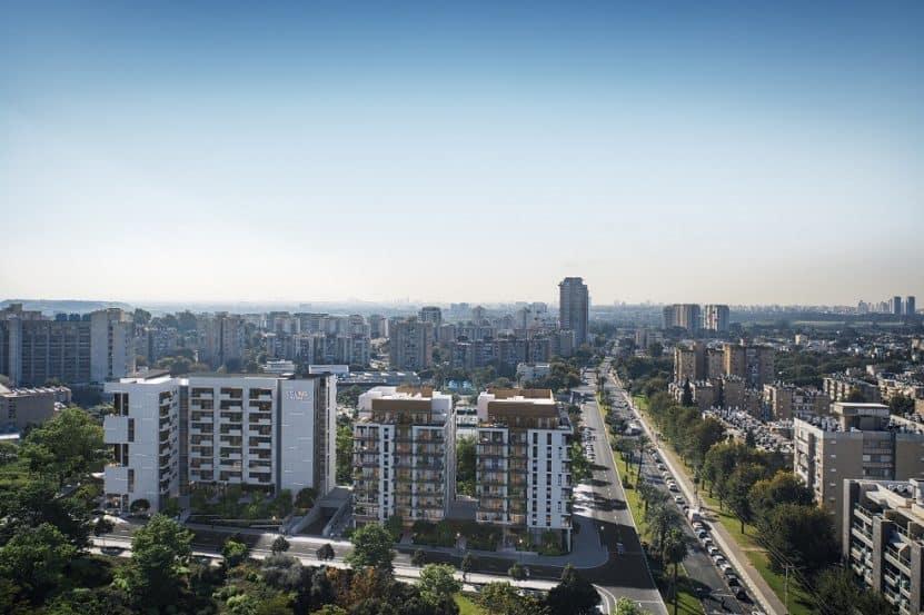 פרוייקט יאנג אליהו בתל אביב // הדמייה 3DIVISION