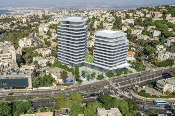 הדמיית חורב חיפה // משרד גורדון אדריכלים ומתכנני ערים