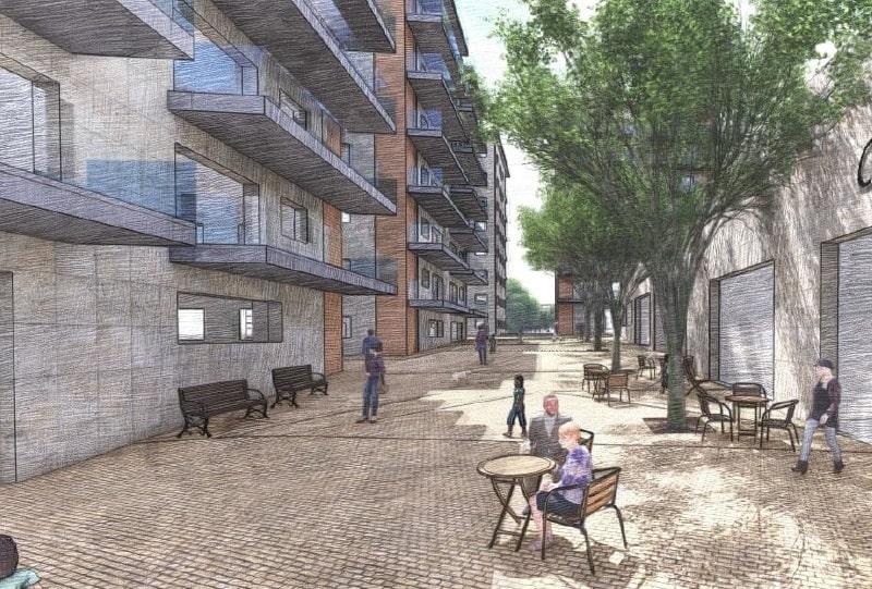 הדמיית התכנית // משרד ארי כהן אדריכלות ובינוי ערים