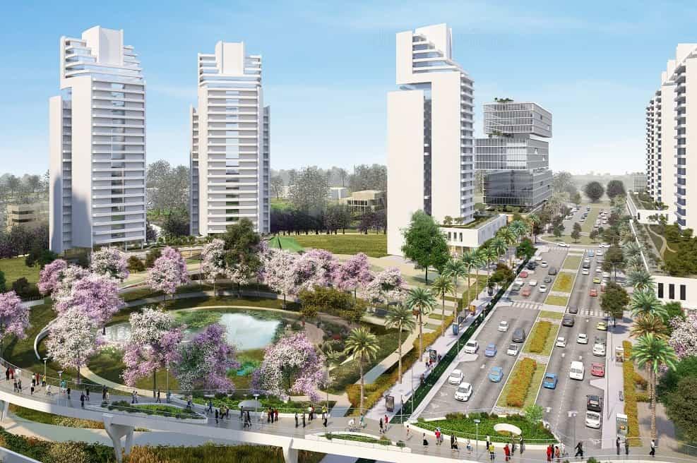 הדמיית התכנית // יסקי-מור-סיון אדריכלים