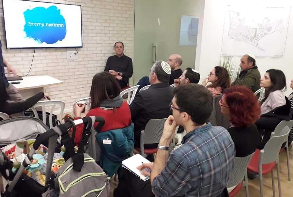 מפגש דיירים // צילום קבוצת יגאל אלון
