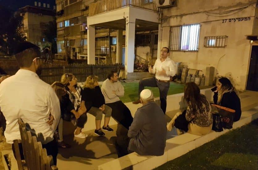מפגשי דיירים לפני תחילת התהליך // צילום קבוצת יגאל אלון