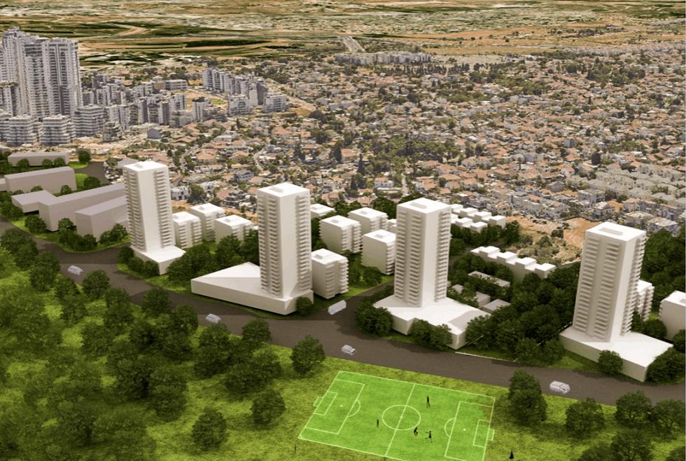 הדמיית התכנית // הורוביץ אדריכלים