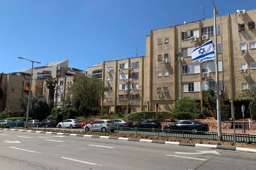 הבניינים בשכונת גני ראשון // יחצ