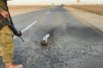 פגיעה בכבישים ותשתיות // צילום: נתיבי ישראל
