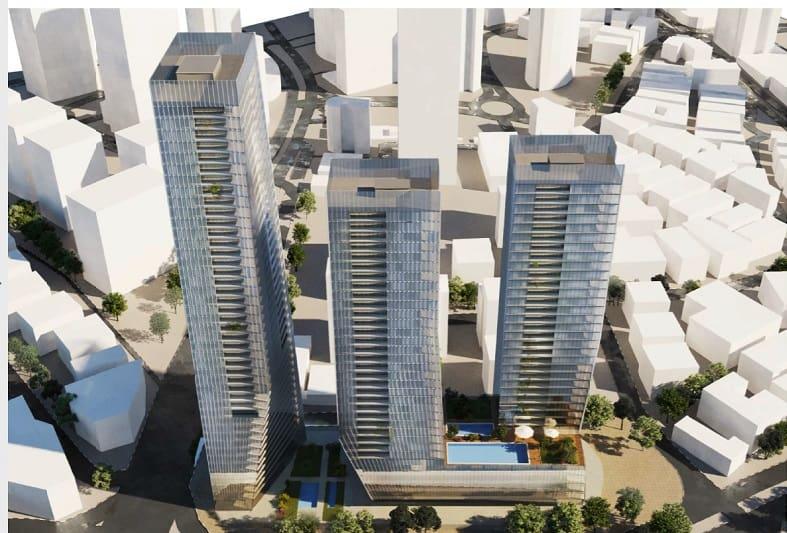 הדמיית הפרויקט // משה צור אדריכלים בוני ערים