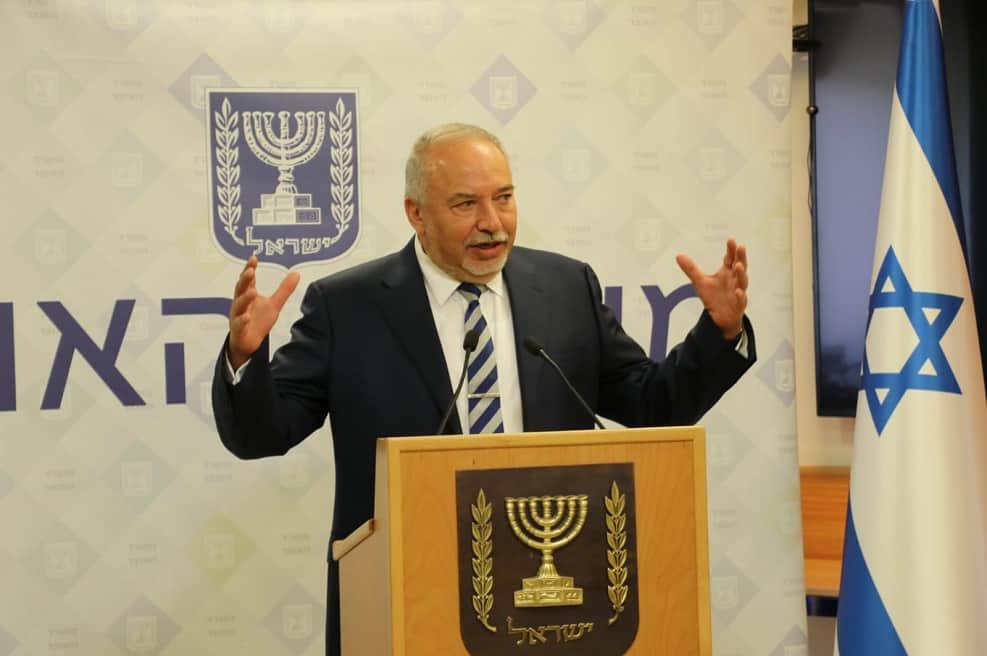 אביגדור ליברמן, שר האוצר // דוברות משרד האוצר