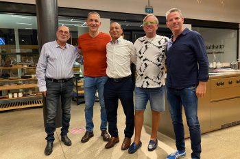 """מימין לשמאל: רן פרסברגאריה, אלדר חזי, נוריאל רון, אבידן ומשה רוזנבלום // יח""""צ"""