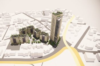 הדמיה פרוייקט פארק המושבות // יגאל לוי אדריכלים