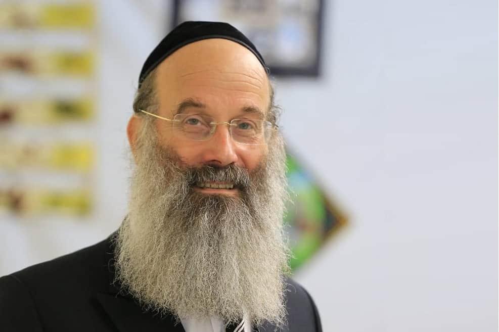 """אברהם רובינשטיין, ראש העיר בני ברק // יח""""צ"""
