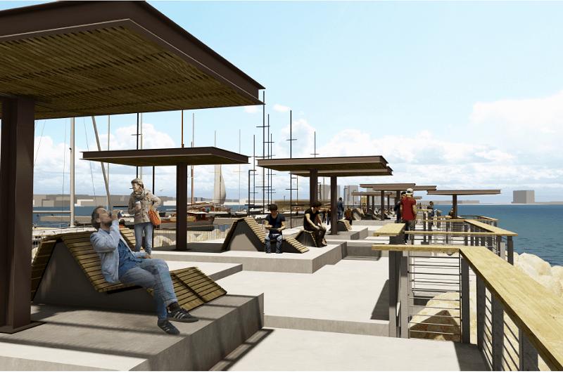 הנמל מייזליץ כסיף רויטמן אדריכלים