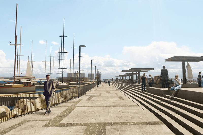 הדמיה הנמל מייזליץ כסיף רויטמן אדריכלים