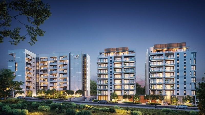 פרוייקט יאנג אליהו בתל אביב מוקטן // 3DIVISION