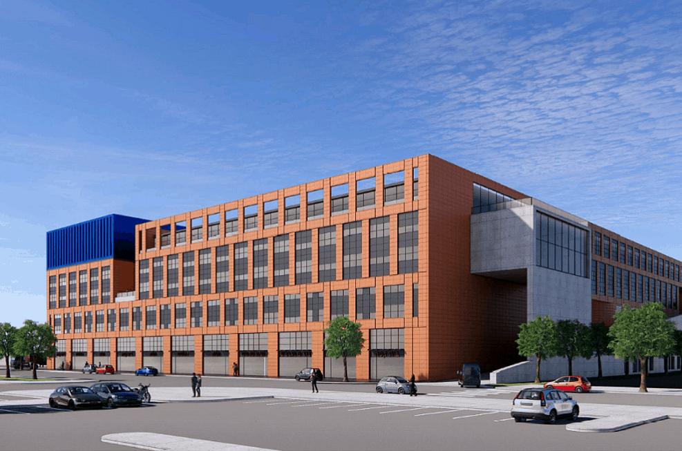 הפרויקט בשהם של קרדן ישראל וגבע נדלן // אורבך הלוי אדריכלים