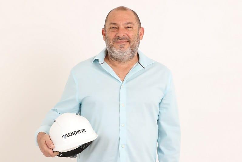 """יוסי פרשקובסקי,  יו""""ר פרשקובסקי השקעות ובנין // גבע טלמור"""