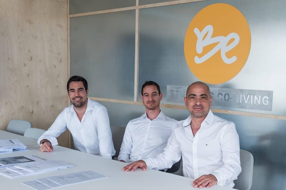 היזמים גלעד מור, עידו ונדב ברזילי קרדיט // פזית אסולין