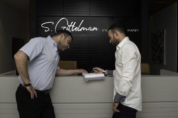 אביב (משמאל) ושאולי גיטלמן // ליאור כהן