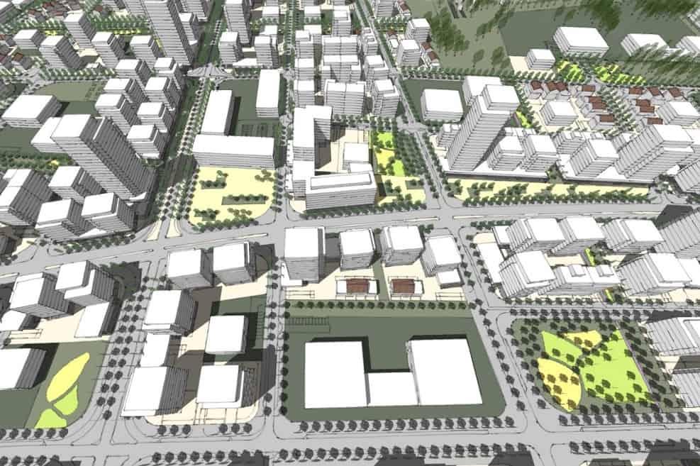 הדמיית התכנית // ארי כהן אדריכלות ובינוי ערים