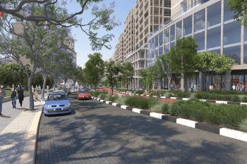 הדמיה תכנית ואדי גוז // למשרד ארי כהן אדריכלות ובינוי ערים