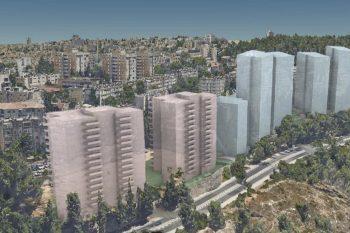הדמיית הפרויקט \\ רונאל אדריכלים