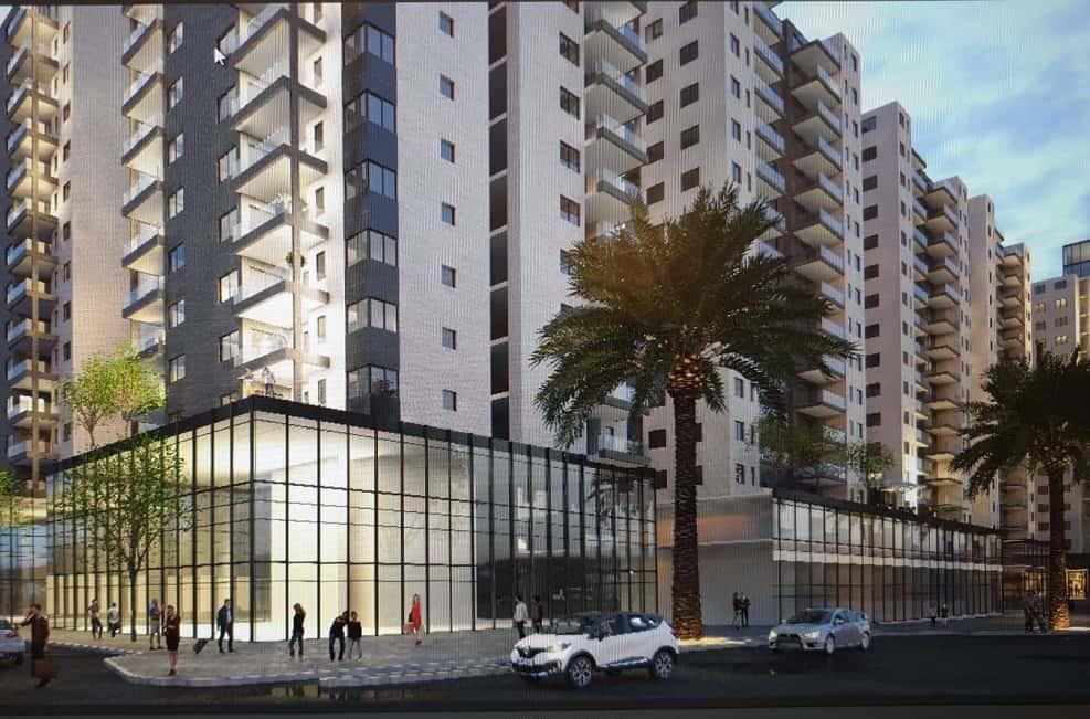 הדמית הפרויקט // אדריכל איציק פרנס
