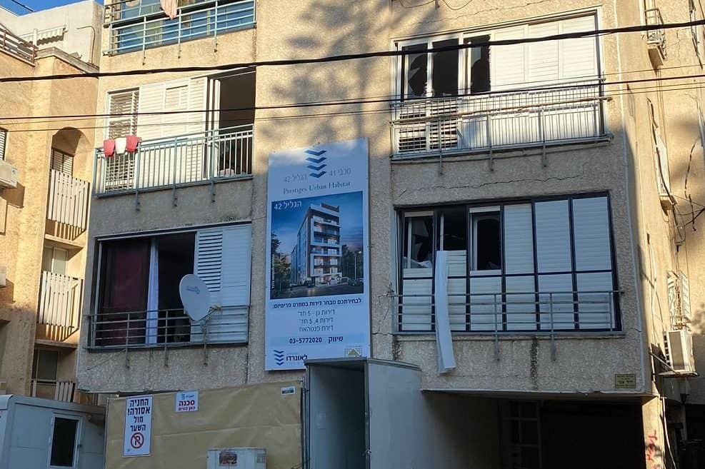 הבניין ברחוב הגליל // דוברות העירייה
